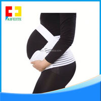 2016 summer new European and American striped cotton piece Maternity belt belly care for pregnant women
