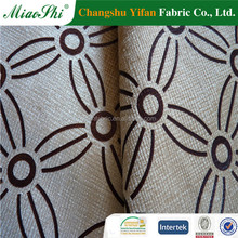 import from china flocked with metallic velvet fabric for sofa dimension