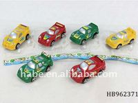 Pull back racing car 6 styles 3 colors,children plastic toys