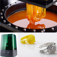 2015 new high precision DLP photosensitive resin jewelry liquid resin 3d printer