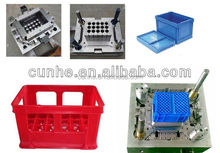 Professional household mould maker plastic injection used crate mold