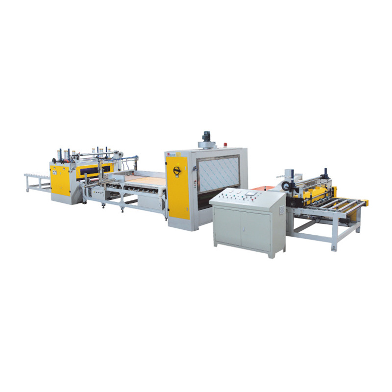 PUR hot melt glue HPL/PET/PVC MDF laminating machine
