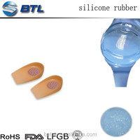 silicone rubber raw material, liquid silicone rubber for shoe insoles making