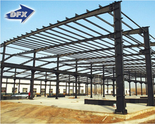 Multi Span Prefab Steel Structure Warehouse and Factory