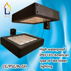 Energy saving 80W-200W led street light with PSE/RoHS/CE listed for parking lot, IP65 with good driver light 2 PCS/RoHS