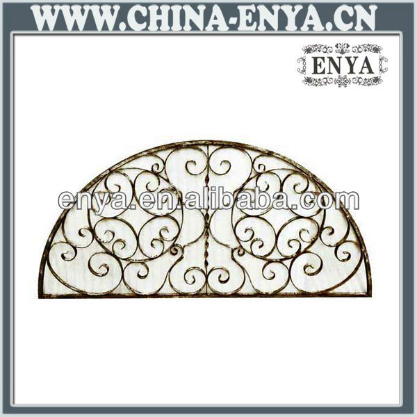 Wall Art in half moon design, Metal Home Decoration