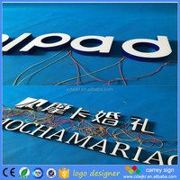 Electronic advertising electical sign board company names