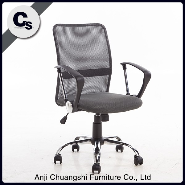 high class mesh and plastic adjustable office <strong>chair</strong> with wheel