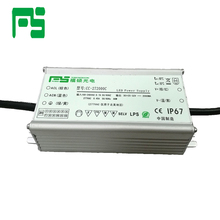 Shenzhen uninterruptible high power 100w 24v waterproof ip67 led light strip driver saa approved