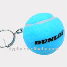 mini promotional 40mmTennis Ball Keychain