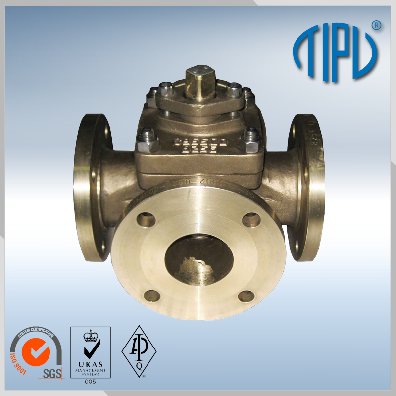 factory supply double union brass ball valve