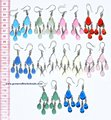 Glass Earrings New Fashion Costume Hamdmade Jewelry Wholesalers