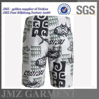 Swimtrunk with your logo boardshort fabric wholesale swimsuit
