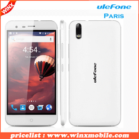 Original Ulefone Paris X 5.0 Inch HD Screen Smartphone Android 5.1 Quad-Core Cell Phone 2G RAM+16G ROM 2250mAh Moblie Phone