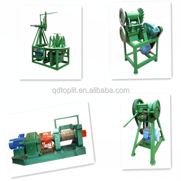 Wate tire recycling machine /tyre rubber crumb production machine