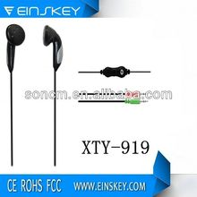 Blister packing XTY-919 headset handphone with mic