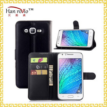 stand flip cover for Samsung galaxy J7 cell phone case with card slots leather case wholesale mobile phone accessory