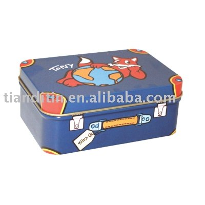 Blank Packing Candy Tin Box for food containers