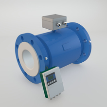 Remote electromagnetic flow meter in electricity
