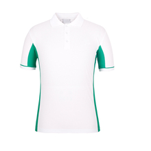 High Quality 100% Cotton Pique Mens Custom Sublimated Polo T Shirts With customer's Logo