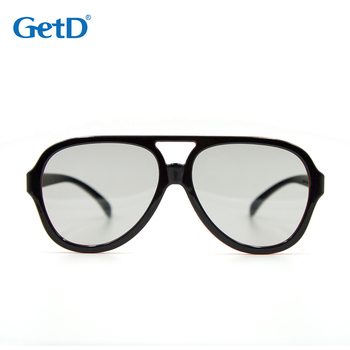 Reusable Passive Circular Polarized 3D glasses for 3D Cinema model G60