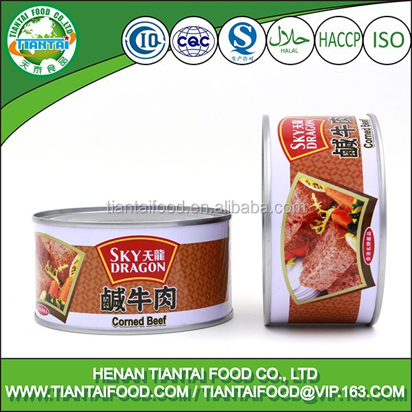halal ground beef wholesale canned beef meat, minced beef