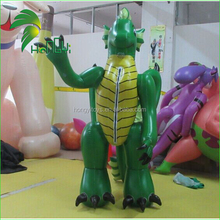 Customized giant animal inflatable shapes advertising inflatable cartoon dragon / inflatable green dragon