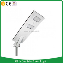 Philiphines market all in one solar street light 20w with dusk to dawn motion/body sensor