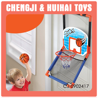 Hanging door plastic sport set portable basketball hoop