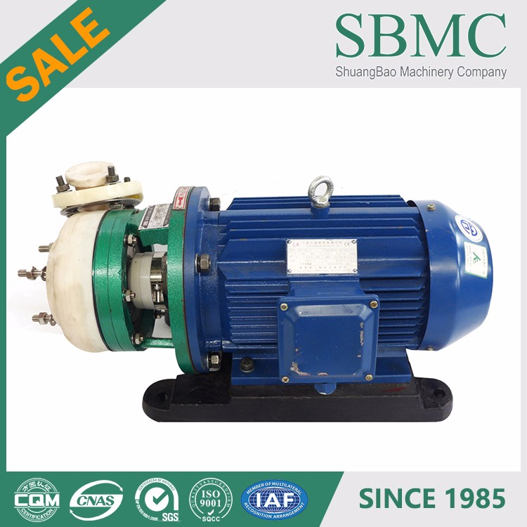 PFA lining chemical company portable lpg transfer pump manufacture