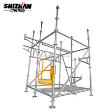 Cheap price used layher allround scaffolding/aluminum ringlock scaffolding for sale
