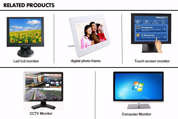 Best selling Chinese supplier of 17 inch cctv lcd monitor bnc hd av input
