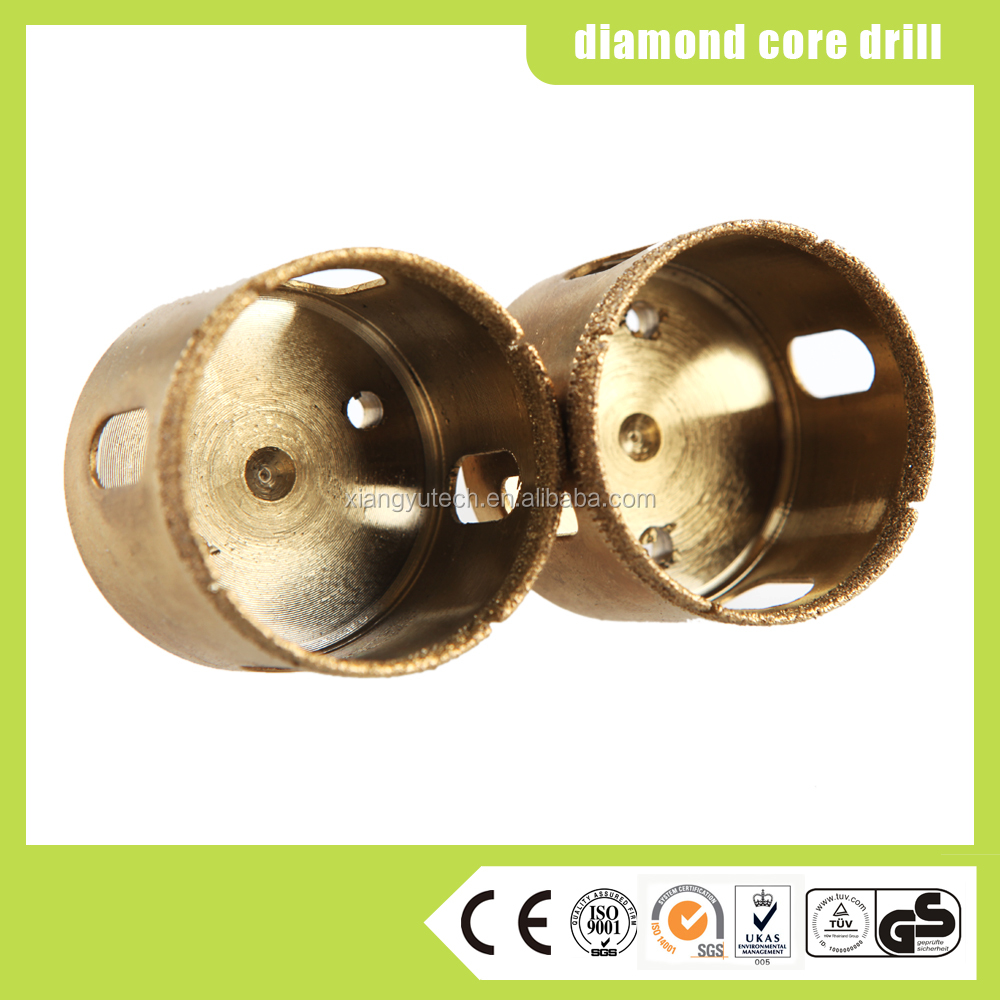 High quality diamond core dril bits for glass