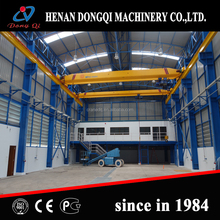 traveling electric warehouse used single girder overhead crane with busbar system price for sale