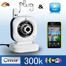 Wifi ip Camera with P2P and Motion detection Video baby monitor