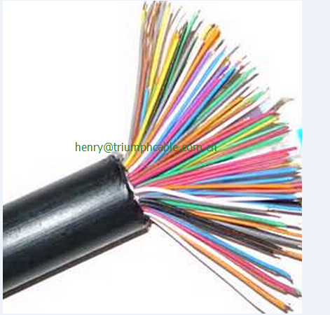 30V low volatge 7 cores 20 AWG pvc insulated shielded cable
