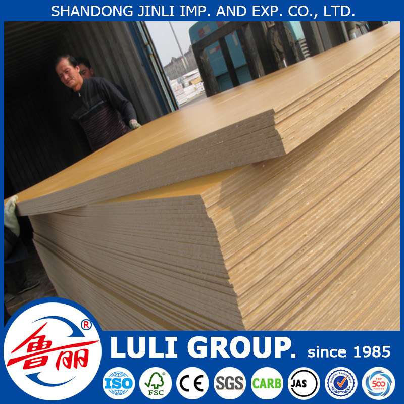 laminated indonesia mdf board price from LULI GROUP China wood factory