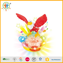 New inventions funny baby plastic animals toy projector with music