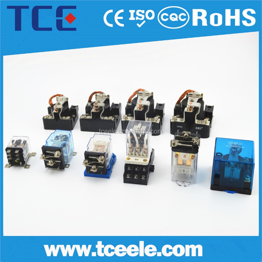 PCB 10A 250VAC/30VDC 0.36W Hot Sale High 24v power relay