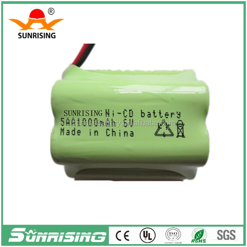Good Quality China factory 6.0v nimh rechargeable battery pack