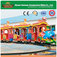 News !!The latest hot product track train,Amusement park miniature trains for sale