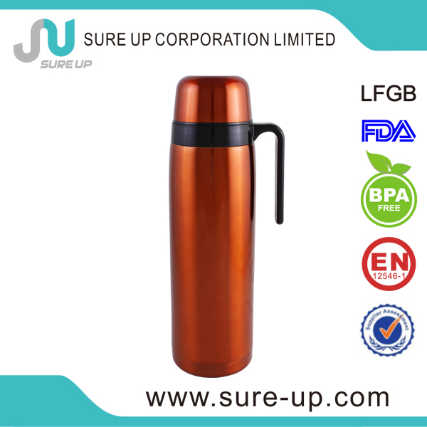 Japanese Design stainless steel high quality thermos flask (FSAS)