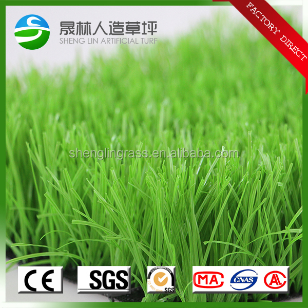 Plastic grass mat in roll artificial turf grass synthetic grass for soccer fields