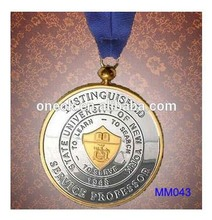 3D design blank medal, sport products, blank metal medal blanks