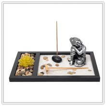 Resin sleeping buddha statue of zen garden ,home decoration for promotion