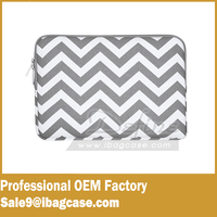 Hot Gray Canvas cute laptop bag Carrying Case for iPad Pro