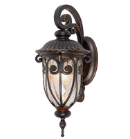 European style outdoor lighting fixtures wall lamp