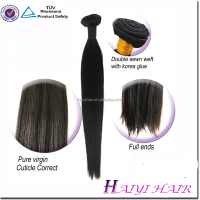 Hot selling wholesale human bulk hair styles cheap virgin human hair hair styling products Thick and Heathy ends