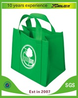 silk printing non woven promotional bag