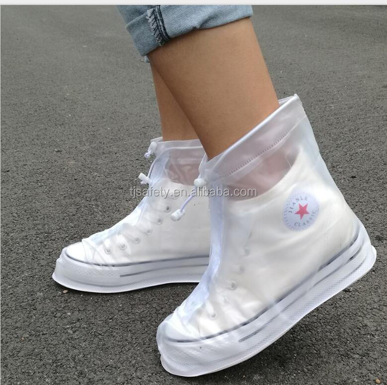 2017 cheap and practical of PVC waterproof rain shoe cover